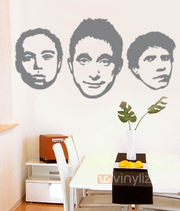 1PA001 - Beastie Boys Wall Decal Sticker