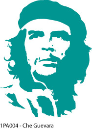 1PA004 - Che Guevara Wall Decal Sticker