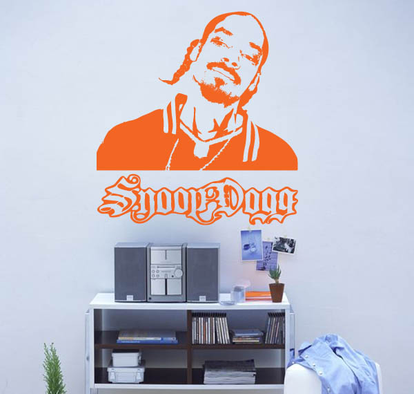1PA015 - Snoop Dogg Wall Decal Sticker