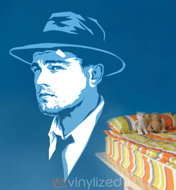 1PA024 - Leonardo DiCaprio Shutter Island Wall Decal Sticker